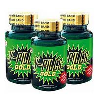 V-Pills Gold 3'Lü Set (Sprey + Parfüm + Lubricant)