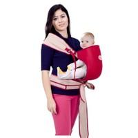 Sevi Bebe Bel Destekli Pratik Yanguru Bordo