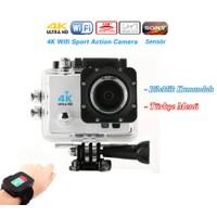 POWPAC ULTRA HD +Wifi+Uzaktan Kumandalı +16 MP 4K Sony Visior Aksiyon Kamera
