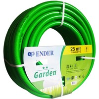 Ender Garden 3/4 inç Örgülü Bahçe Hortumu 25m