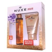 Nuxe Sun Bronzlaştırıcı Yüz ve Vücut Yağı Spf10 150ml Kofre