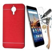 Kılıfshop Vodafone Smart Style 7 Kılıf Kapaklı Gizli Mıknatıslı+ Nano Cam