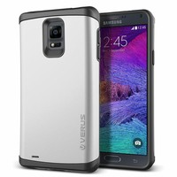 Verus Samsung Galaxy Note 4 Damda Veil Kılıf Light Silver