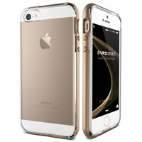Verus iPhone SE Crystal Bumper Series Kılıf Shine Gold
