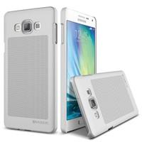 Verus Samsung Galaxy A5 Slim Dot Diary Series Kılıf Light Silver