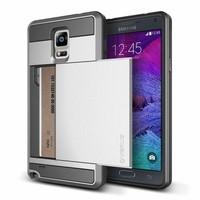 Verus Samsung Galaxy Note 4 Damda Slide Kılıf Light Silver