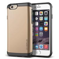 Verus iPhone 6/6S 4.7 Damda Veil Kılıf Shine Gold