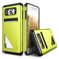 LIFIC Samsung Galaxy Note 5 Mighty Card Defense Kılıf Lime