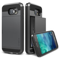 Verus Galaxy S6 Case Damda Slide Kılıf Steel Silver