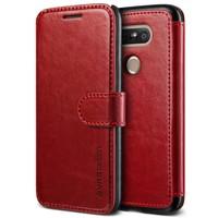 Verus LG G5 Case Dandy Layered Series Kılıf Wine Black