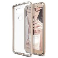 Verus LG G5 Crystal Bumper Kılıf Shine Gold