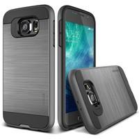 Verus Samsung Galaxy S6 Case Verge Kılıf Steel Silver