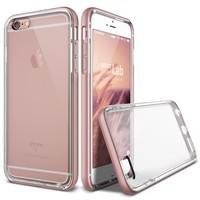 Verus Apple iPhone 6 Plus/6S Plus Crystal Bumper Kılıf Rose Gold