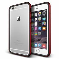 Verus Apple iPhone 6 Plus/6S Plus Iron Bumper Kılıf Black Kiss Red