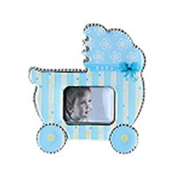 KullanAtMarket Mavi Bebek Arabası Çerçeve 1 Adet