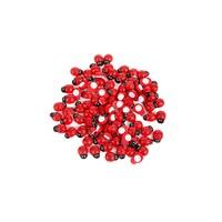 KullanAtMarket Uğur Böceği Kırmızı Sticker Büyük 100 Adet