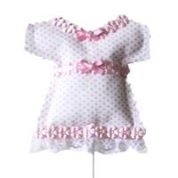 KullanAtMarket Pembe Bebek Elbise Süs Çubuğu 6 Adet