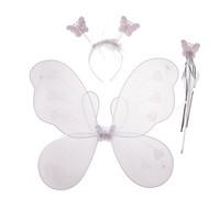 KullanAtMarket Beyaz Kanatlı Kelebek Seti 1 Adet