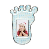 KullanAtMarket Mavi Ayak İzi Bebek Çerçeve 1 Adet