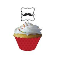 KullanAtMarket Keep Calm Cupcake Süsü 12 Adet