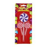 KullanAtMarket Renkli Şeker Mum 3lü 3 Adet