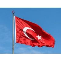 Türk Bayrağı 500x750 cm (Raşel) Kumaş