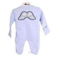 Angels Baby Melek Kanatlı Bebek Tulumu
