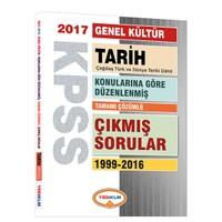 Yediiklim Yayınları Kpss Genel Kültür Tarih Konularına Göre Düzenlenmiş Tamamı Çözümlü 1999-2016 Çıkmış Sorular