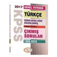 Yediiklim Yayınları Kpss Genel Yetenek Türkçe Konularına Göre Düzenlenmiş Tamamı Çözümlü 1999-2016 Çıkmış Sorular