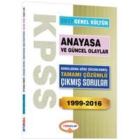 Yediiklim Yayınları Kpss Genel Kültür Anayasa Konularına Göre Düzenlenmiş Tamamı Çözümlü 1999-2016 Çıkmış Sorular