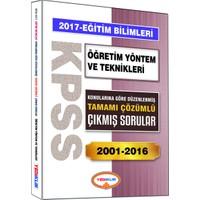 Yediiklim Yayınları Kpss Eğitim Bilimleri Öğretim Yöntem Ve Teknikleri Konularına Göre Düzenlenmiş Tamamı Çözümlü 2001-2016 Çıkmış Sorular