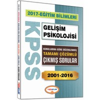 Yediiklim Yayınları Kpss Eğitim Bilimleri Gelişim Psikolojisi Konularına Göre Düzenlenmiş Tamamı Çözümlü 2001-2016 Çıkmış Sorular