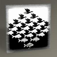 Tablo360 MC Escher Sky and Water 30 x 30