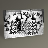 Tablo360 MC Escher Magic Mirror 45 x 30