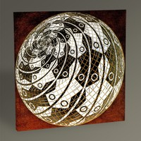 Tablo360 MC Escher Sphere Surface With Fishes 30 x 30
