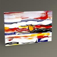 Tablo360 Roy Lichtenstein Sunrise Tablo 45 x 30