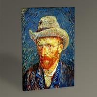 Tablo360 Vincent Van Gogh Kendi Portresi Tablo 45 x 30