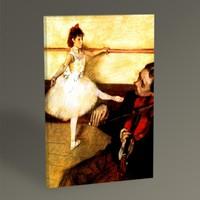 Tablo360 Edgar Degas Dans Dersi 45 x 30