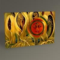 Tablo360 Frida Kahlo Sun and Life 45 x 30