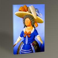 Tablo360 Fernando Botero Goya'nın Ardından 45 x 30