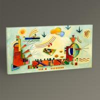 Tablo360 Wassily Kandinsky Evenement Doux 60 x 30