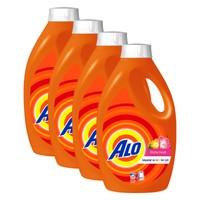 Alo Sıvı Çamaşır Deterjanı Ekstra Ferah Bahar 33 Yıkama Beyazlar Ve Renkliler İçin 4'lü Paket