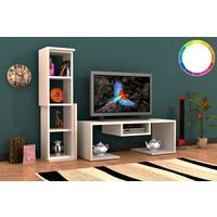 Rafline Bacia Tv Ünitesi - Beyaz