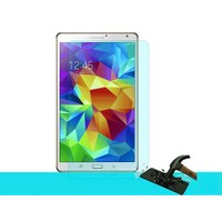 Toptancı Kapında Samsung Galaxy Tab T550 Kırılmaz Cam Ekran Koruyucu