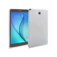 Toptancı Kapında Samsung Galaxy Tab T815 Şeffaf Silikon Kılıf