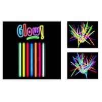 Toptancı Kapında Glow Stick 20Cm Fosforlu Kırılan Çubuk (100 Adet)
