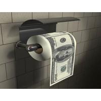 Toptancı Kapında Dolar & Euro Tuvalet Kağıdı