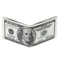 Toptancı Kapında Dolar Şeklinde Cüzdan