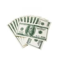 Toptancı Kapında Dolar Şeklinde Peçete