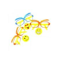Toptancı Kapında Işıklı Palyaço Gözlükleri